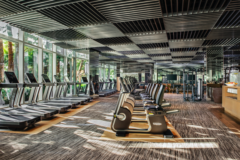 7 Hotel Gyms That Will Motivate You To Work Out On Vacation Hotel Gym Hotel Gym
