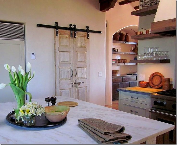 Small Double Barn Door For Pantry Sliding Doors Everything Is Just Perfect In This Picture I Ll