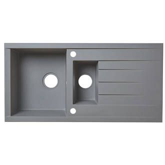 Order online at Screwfix.com. Reversible plastic and resin kitchen ...