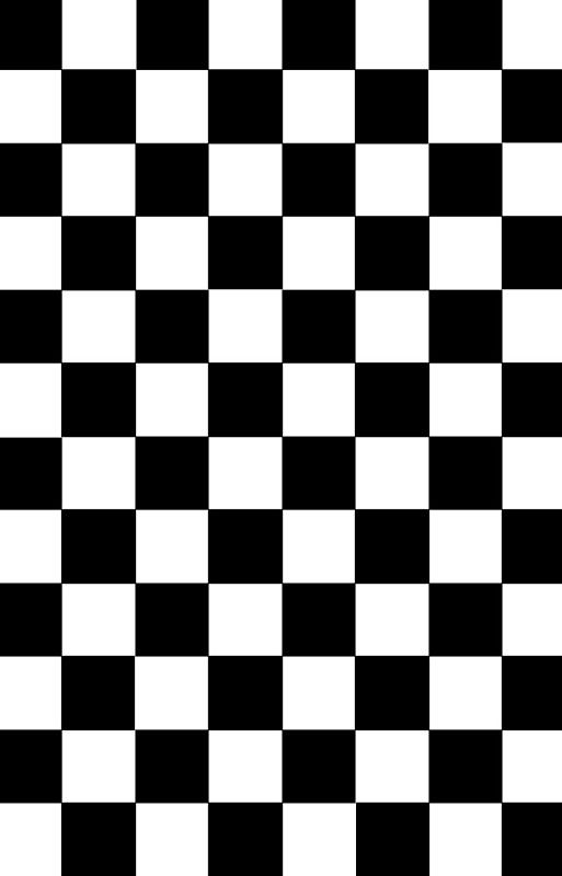 'Checkered Black and White' iPhone 11 - Soft by lornakay