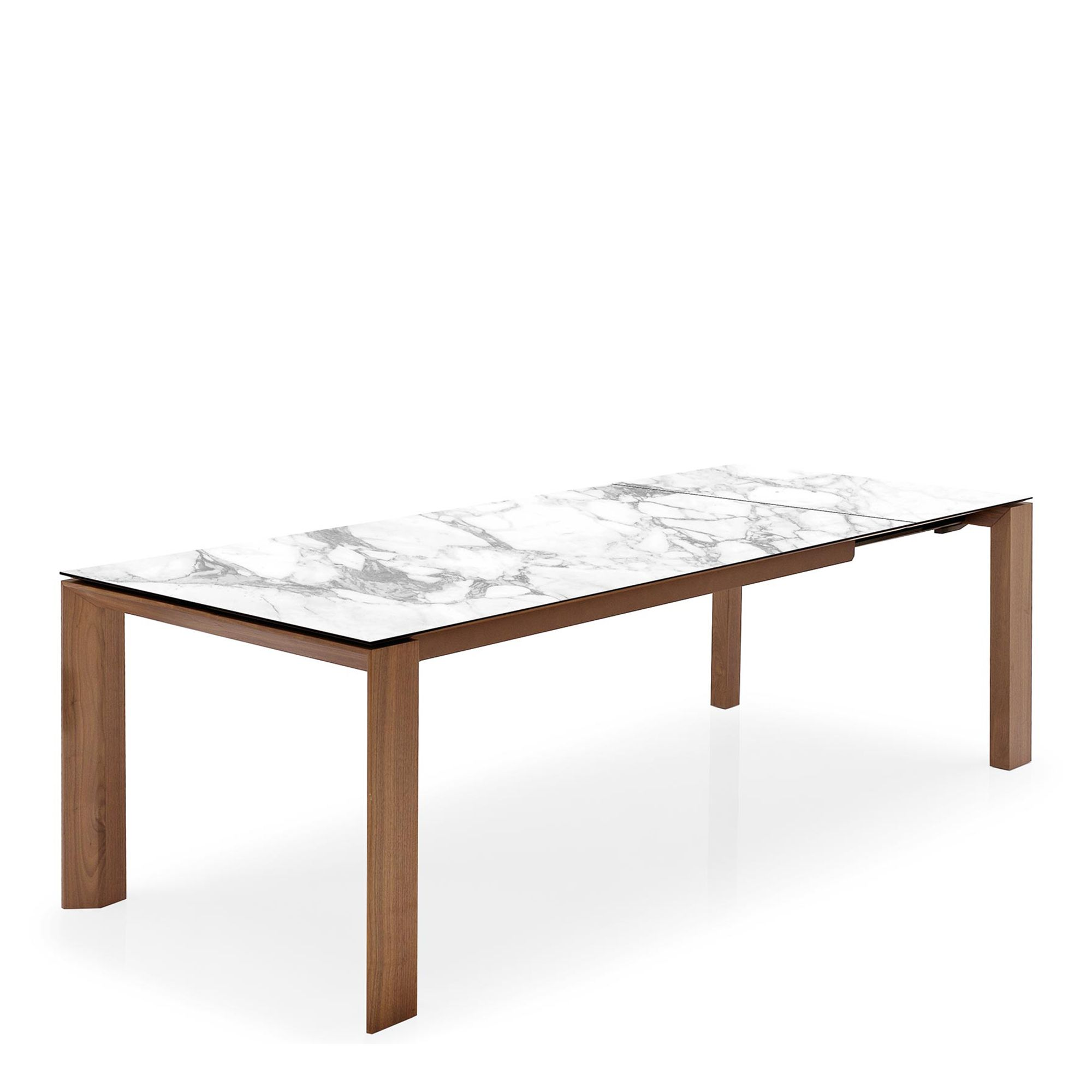 Calligaris Omnia Cs4058 Lv Ext Dining Table With White Marble Ceramic Top Dining Table Extension Dining Table Dining Table Online