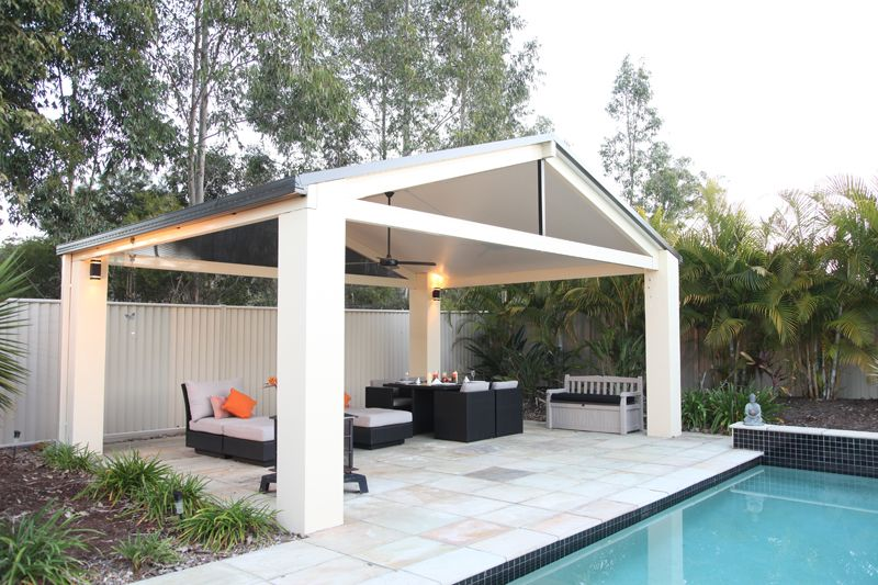 patios styles | solarspan's insulated roofing can be used in a ... - Patio Roofs Designs