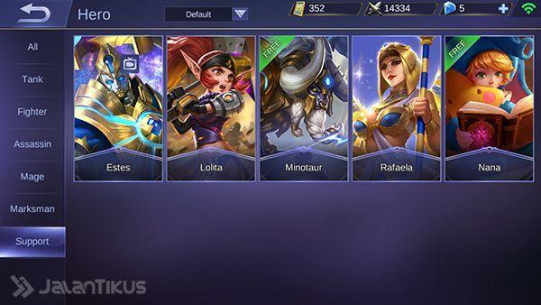 Koleksi Suara Hero Mobile Legends Support