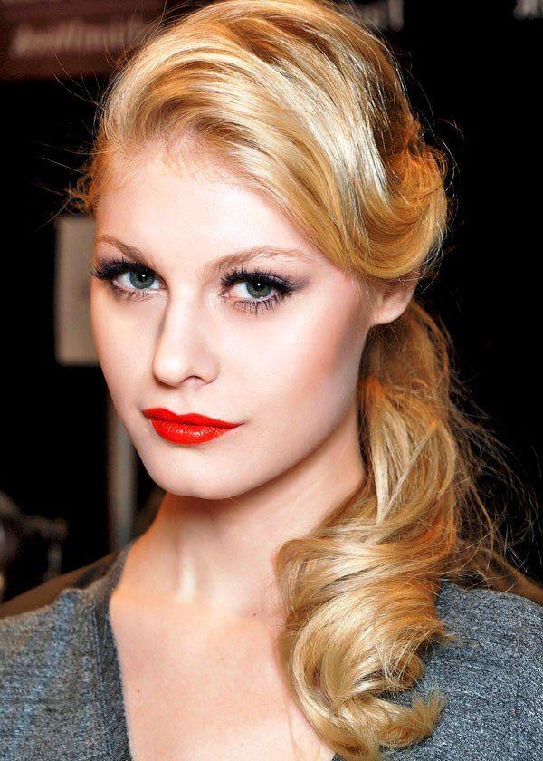 Glamorous Vintage Hairstyles For Women Vintage Pinup Hair