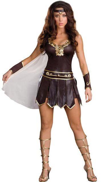 56a88d1c3 princesa guerrera | DISFRAZ | Disfraz de guerrero, Disfraz romana y ...
