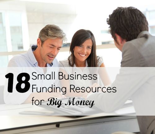 Need small #business funding? Check out these 18 resources for any stage of business and take your idea to the next level! small business ideas, small business success tips, #smallbusiness #entrepreneurship