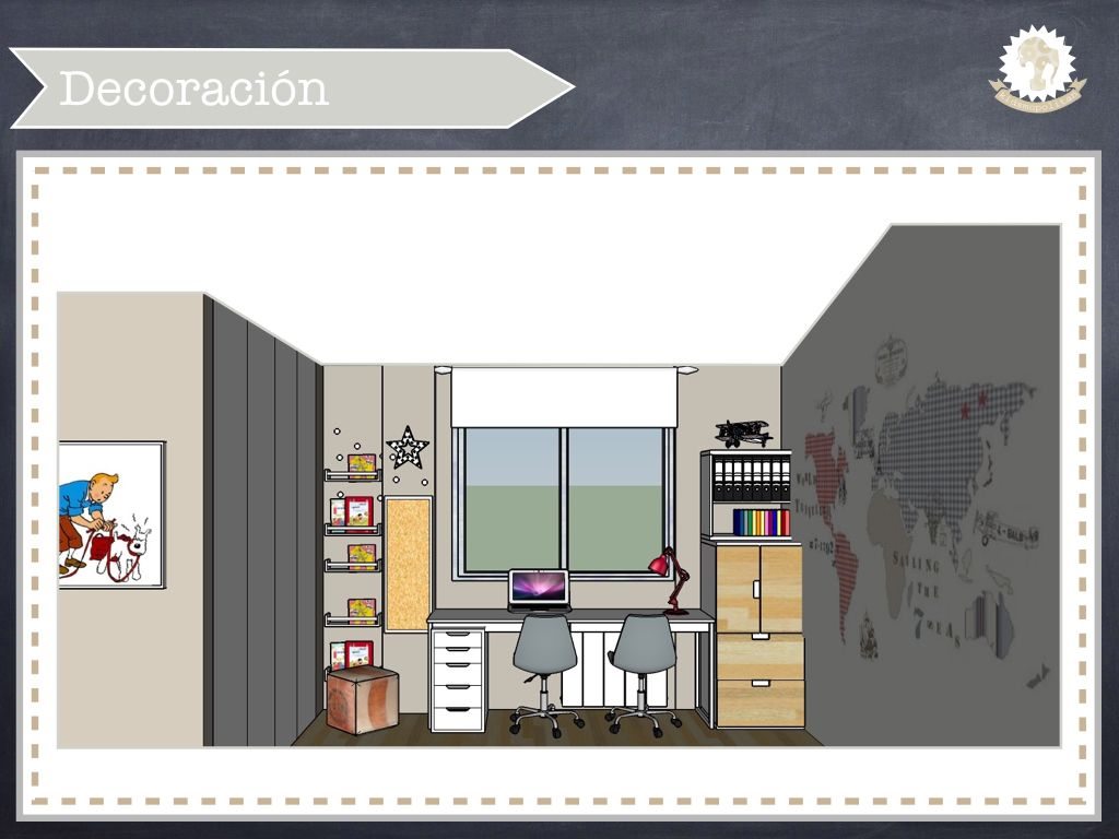 Dormitorio juvenil para un ni o de 8 a os http - Dormitorio juvenil nino ...