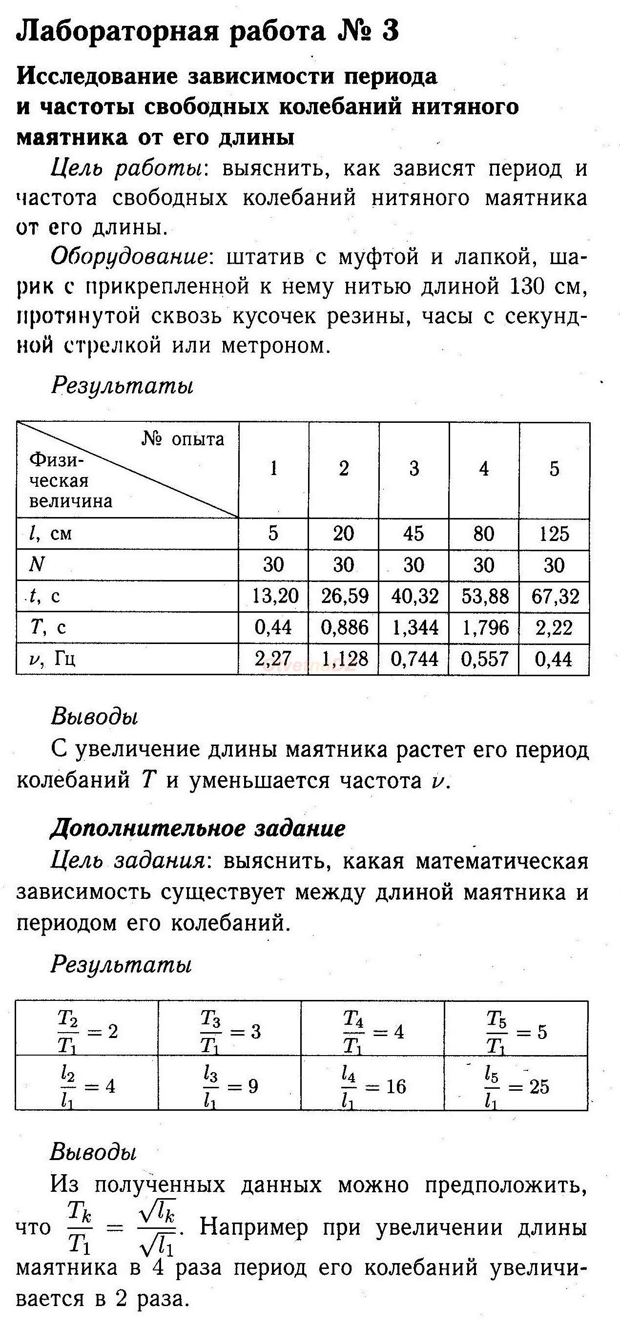 ГДЗ лабораторная работа №3