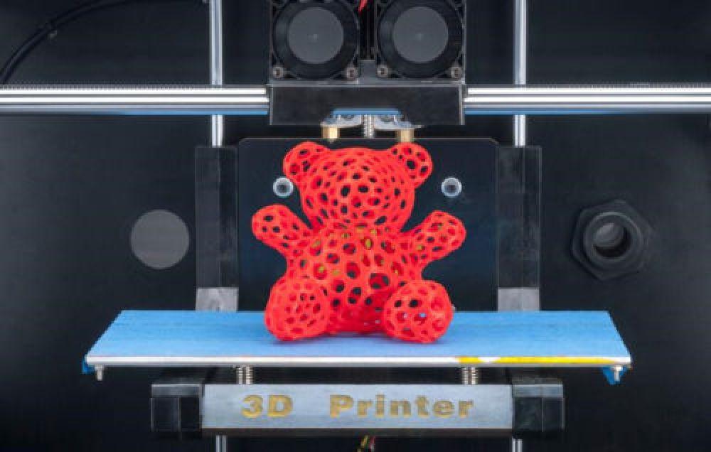 CTC 3D Printer FDM High Precision Replicator 4 Dual Extruder for