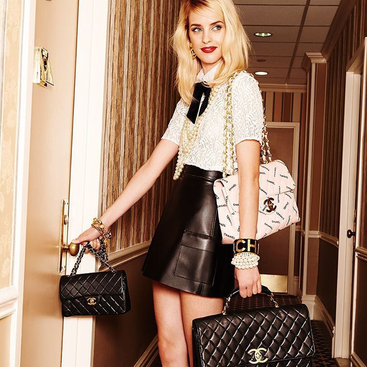 Best. Friends. Forever. #handbags #chanel # By Shopbop