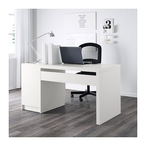 malm bureau wit 140 x 65 cm bureau ikea malm desk. Black Bedroom Furniture Sets. Home Design Ideas