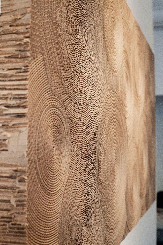 The wondrous work of marie jos gustave texture pattern w nde architektur kunst - Holzwand fliesen ...