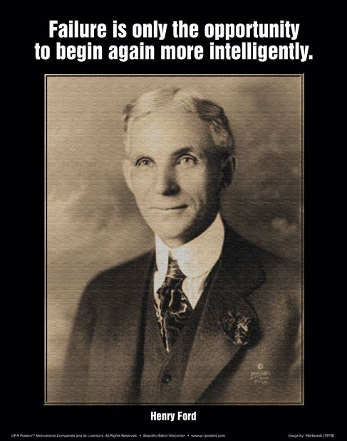 Henry Ford | Free Printable Posters from Print-a-Poster.com