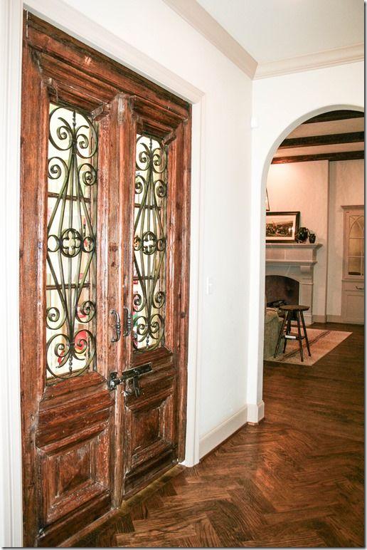 Antique Doors via cote de texas - Antique Doors Via Cote De Texas Porte Antiche Pinterest