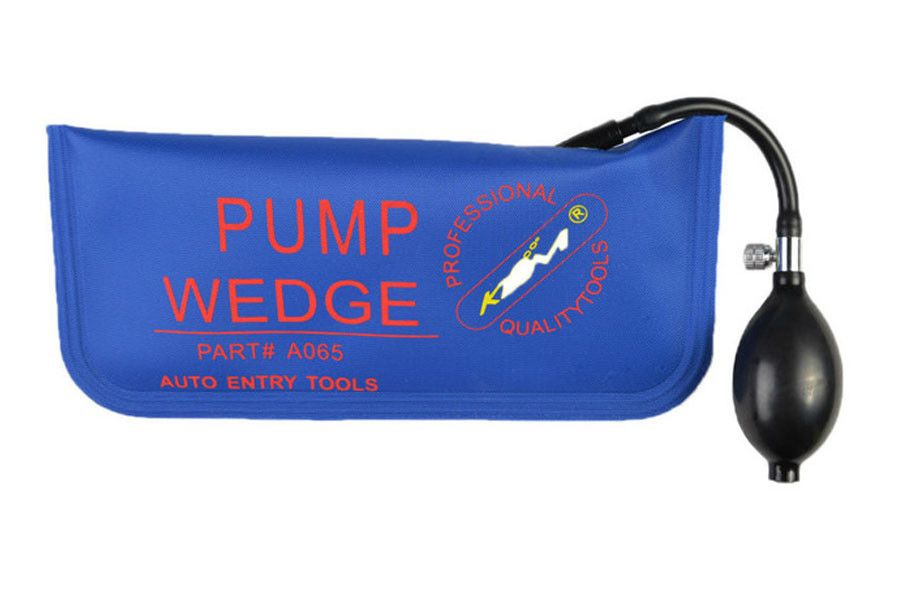 Klom Air Pump Wedge Vehicle Entry Tools Blue Vehicle