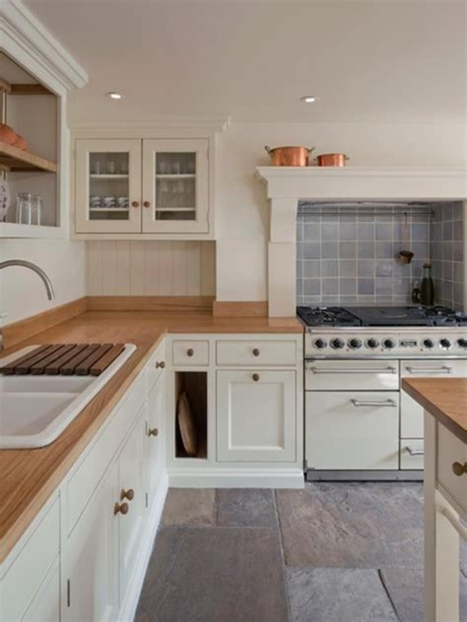 41 Affordable Farmhouse Kitchen with Slate Appliances ...