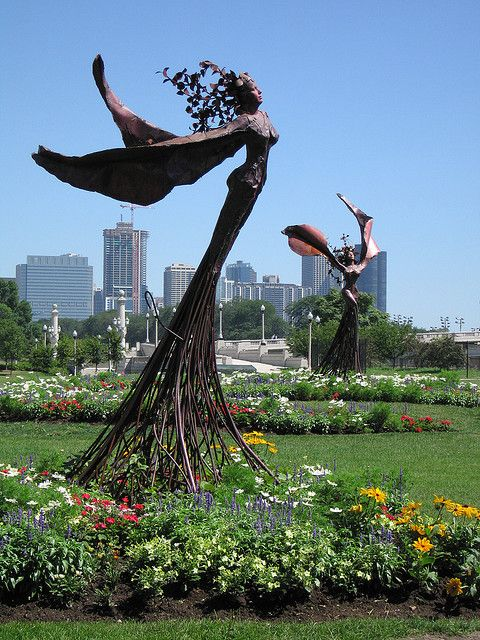 Daphne Of Greek Mythology Rendered Through Sculpture Throughout Chicago They Are Even More Stunning In Person Jasoncross
