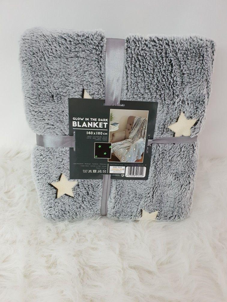 Super Weiche Kuschelige Decke Die Sterne Und Herzen Leuchten