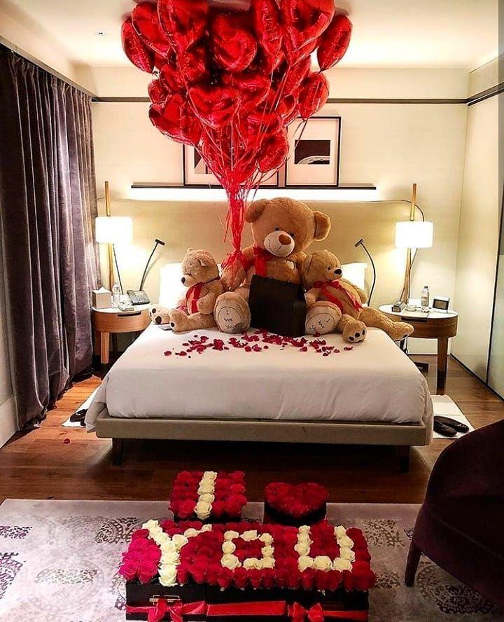 Billiongroupofficial On Instagram Inspo Valentine Bedroom Decor Romantic Bedroom Decor Romantic Decor Room decor ideas valentines