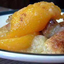 Peach Cobbler I Allrecipes.com
