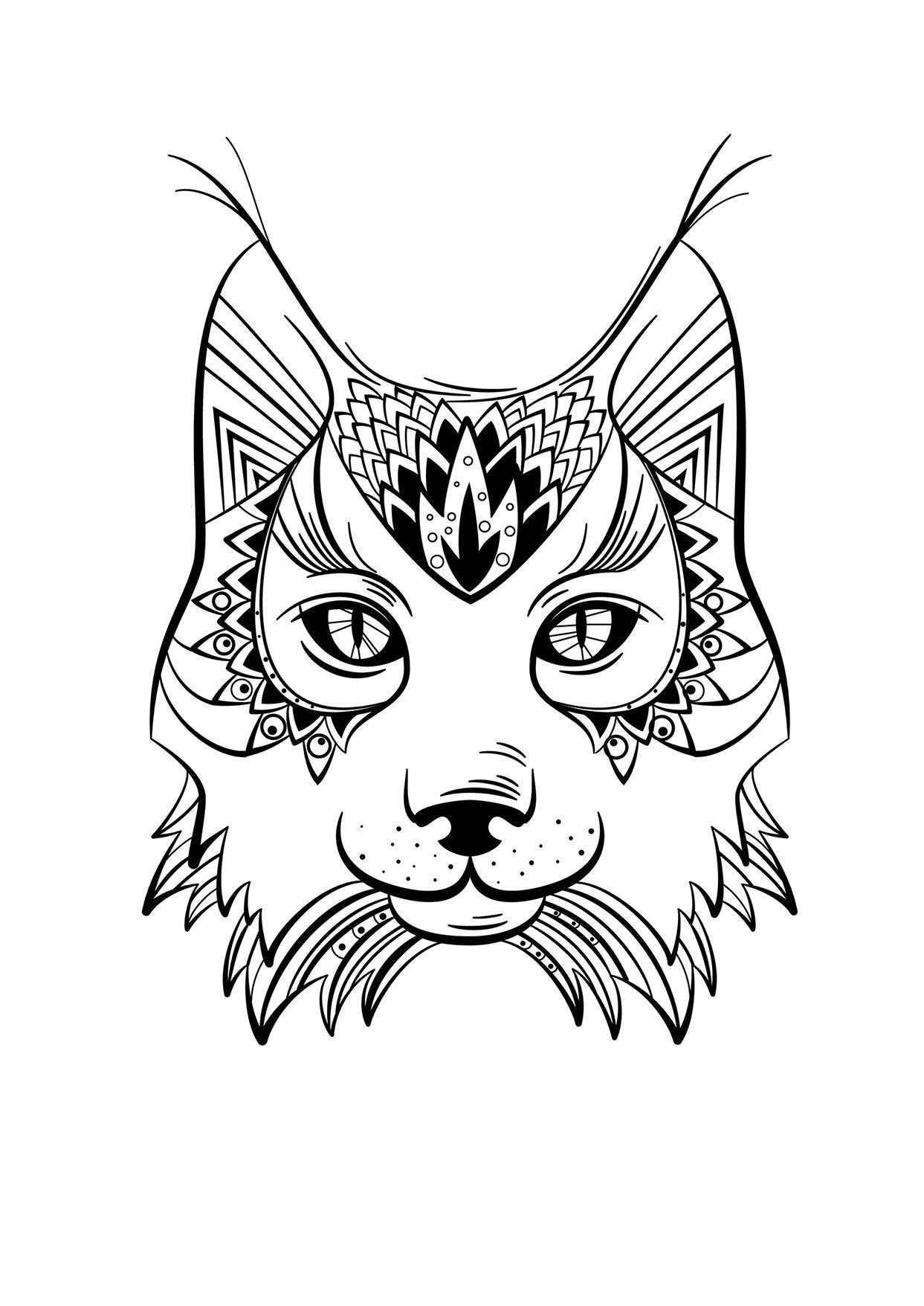 Animaux sauvages, flânerie et coloriage - Créapassions  Animals