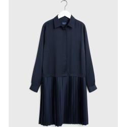 Gant Plissée Kleid (Blau) GantGant #smartcasual