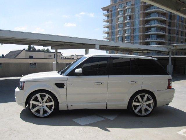 2010 Range Rover Sport Sc Range Rover Sport Black Custom Range Rover Range Rover Black