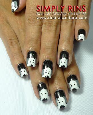 Dog Or Puppy Nail Art Design Puppy Nails Pinterest Crazy Nail