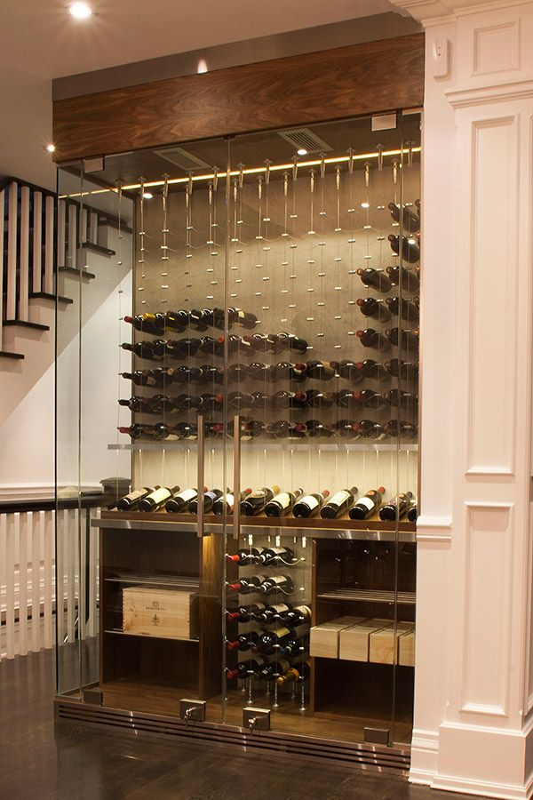 Modern Wine Cellar Cable Wine System 14 Home Wine