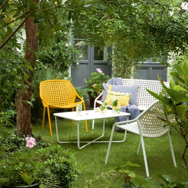 Salon de jardin : notre sélection quali à prix mini ! | Banquettes ...