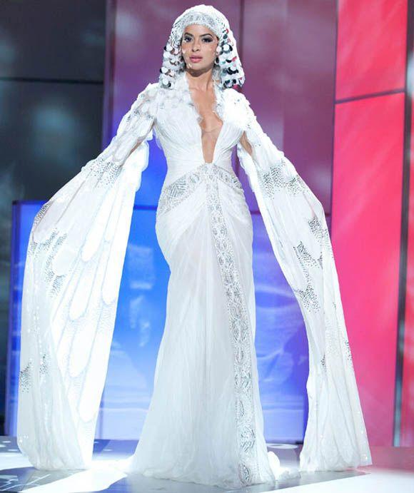 Cleopatra Styled Wedding Dress Egyptian Goddess Wedding