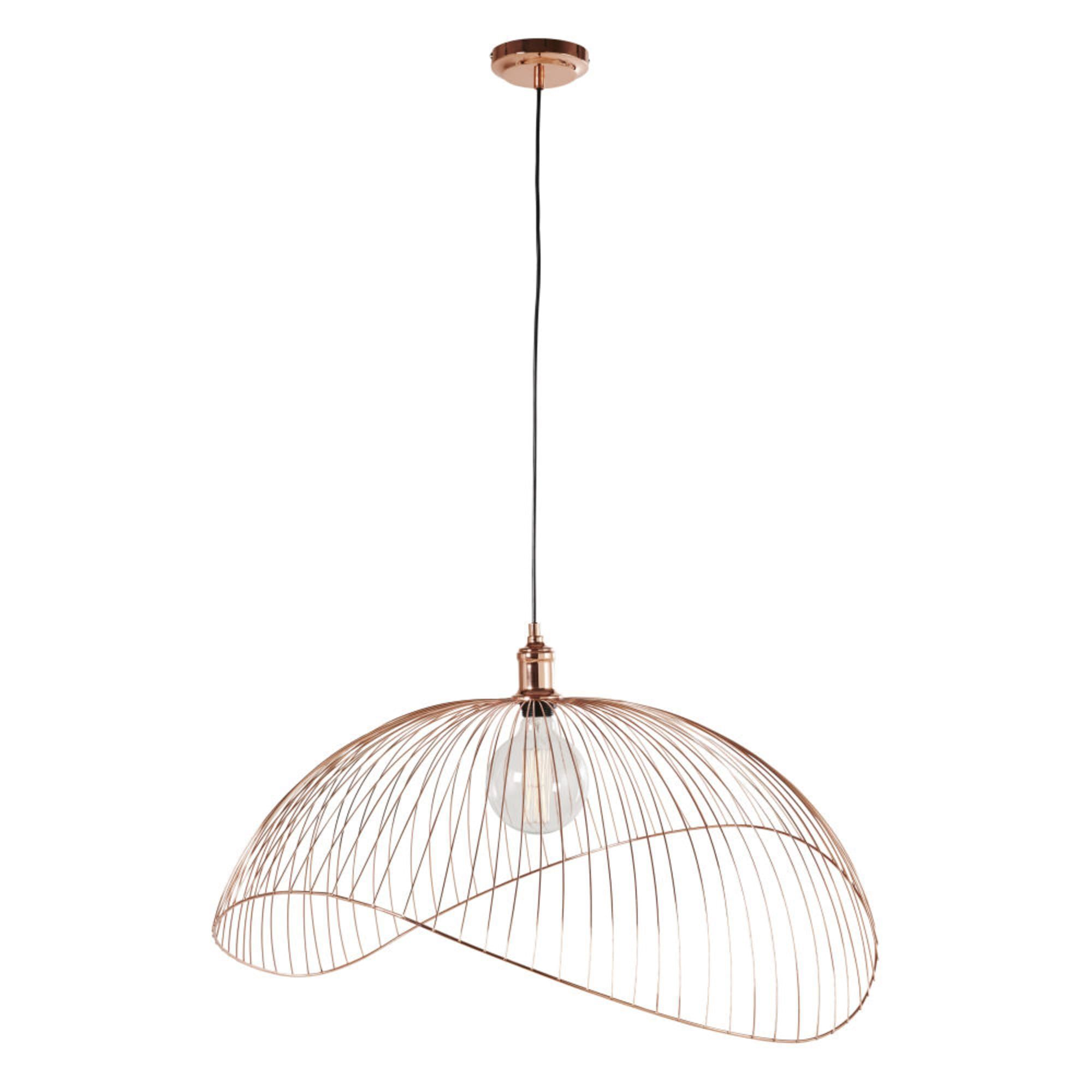 Copper Wire Pendant In 2020 Ceiling Lamp Ceiling Plant Decor