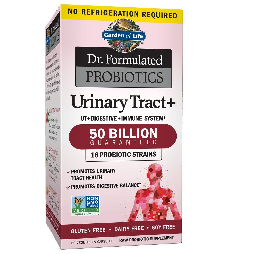 Garden of Life Probiotic Supplement for Urinary Tract