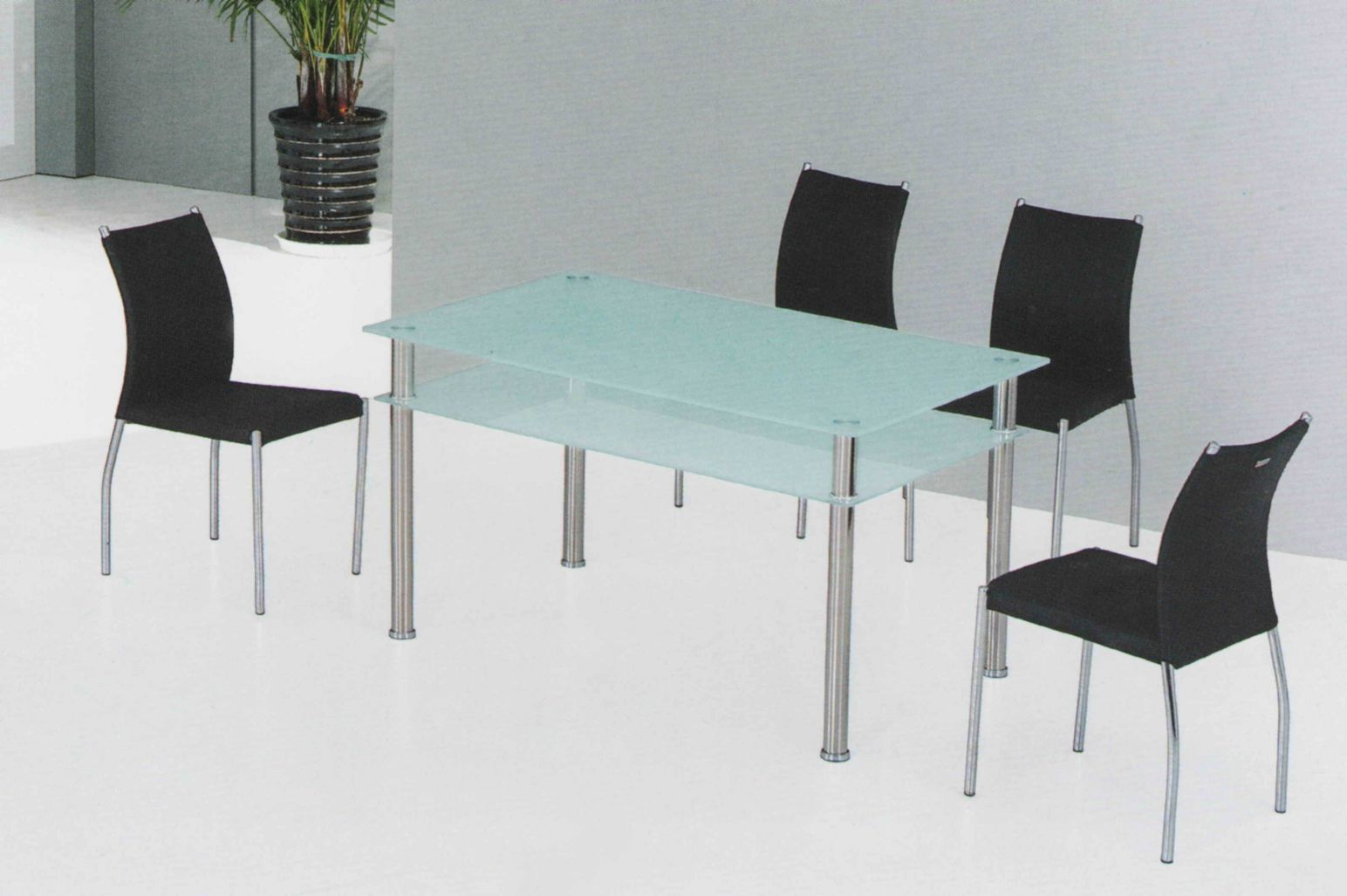 100+ Stainless Steel Kitchen Table and Chairs - Kitchen Track ...