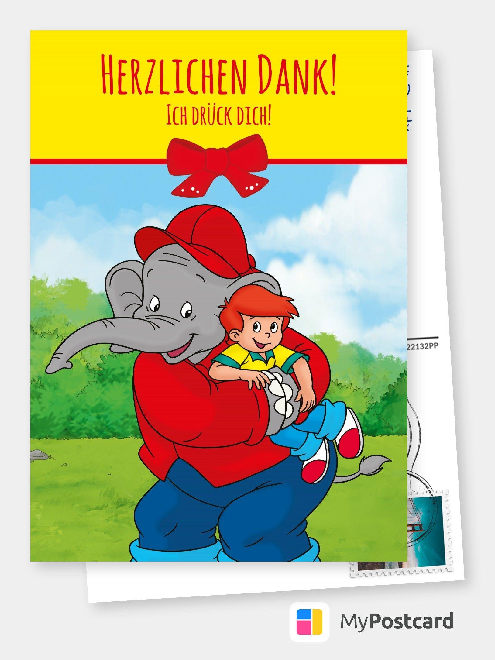 Ich Druck Dich Comic Cartoons Echte Postkarten Online