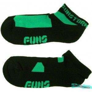 Kotníkové černé ponožky Funstorm AU-012231 black. http://www.skatesport.cz   #ponozky