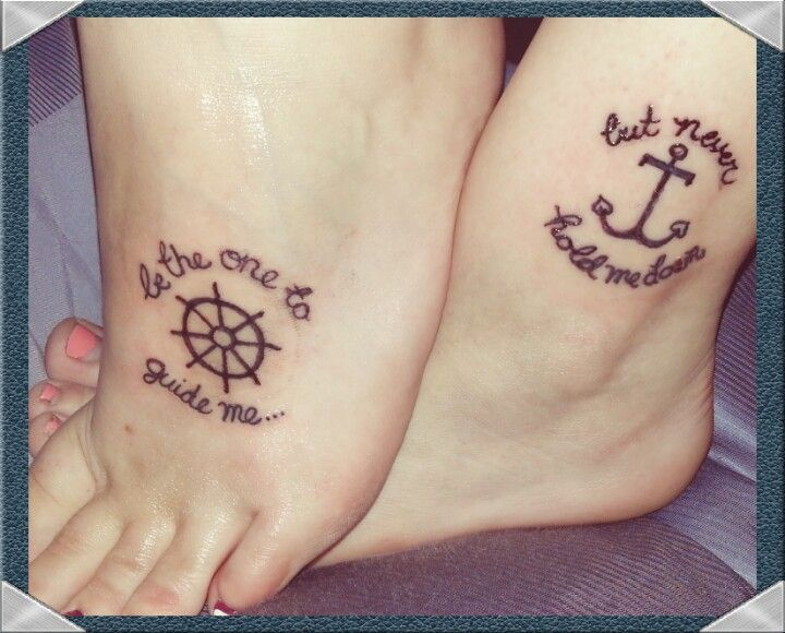 Like personalization of the celtic friendship tattoo; not this ...