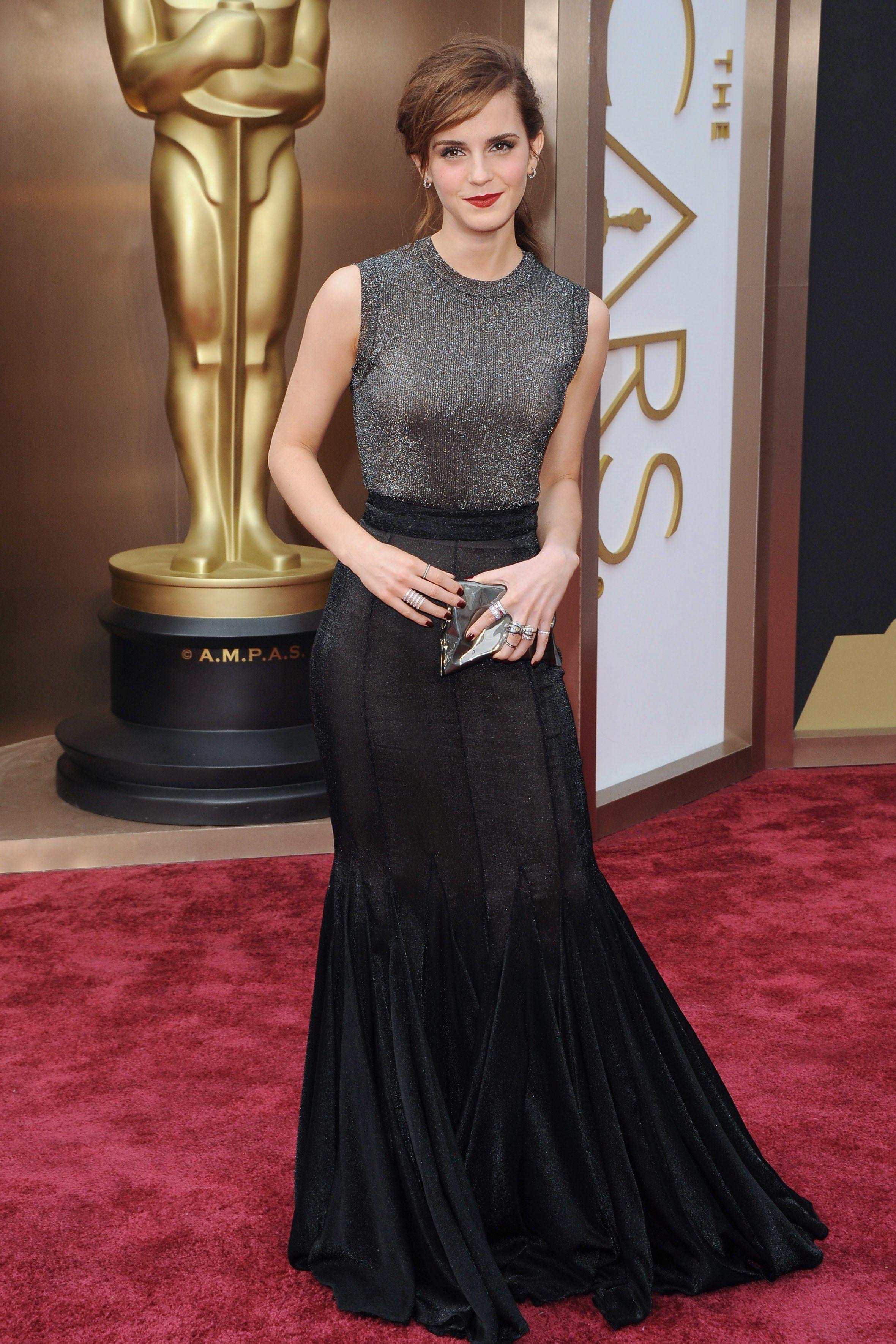 The 17 Best Oscars Red Carpet Looks of All Time   Emma watson style,  Ladylike dress, Emma watson