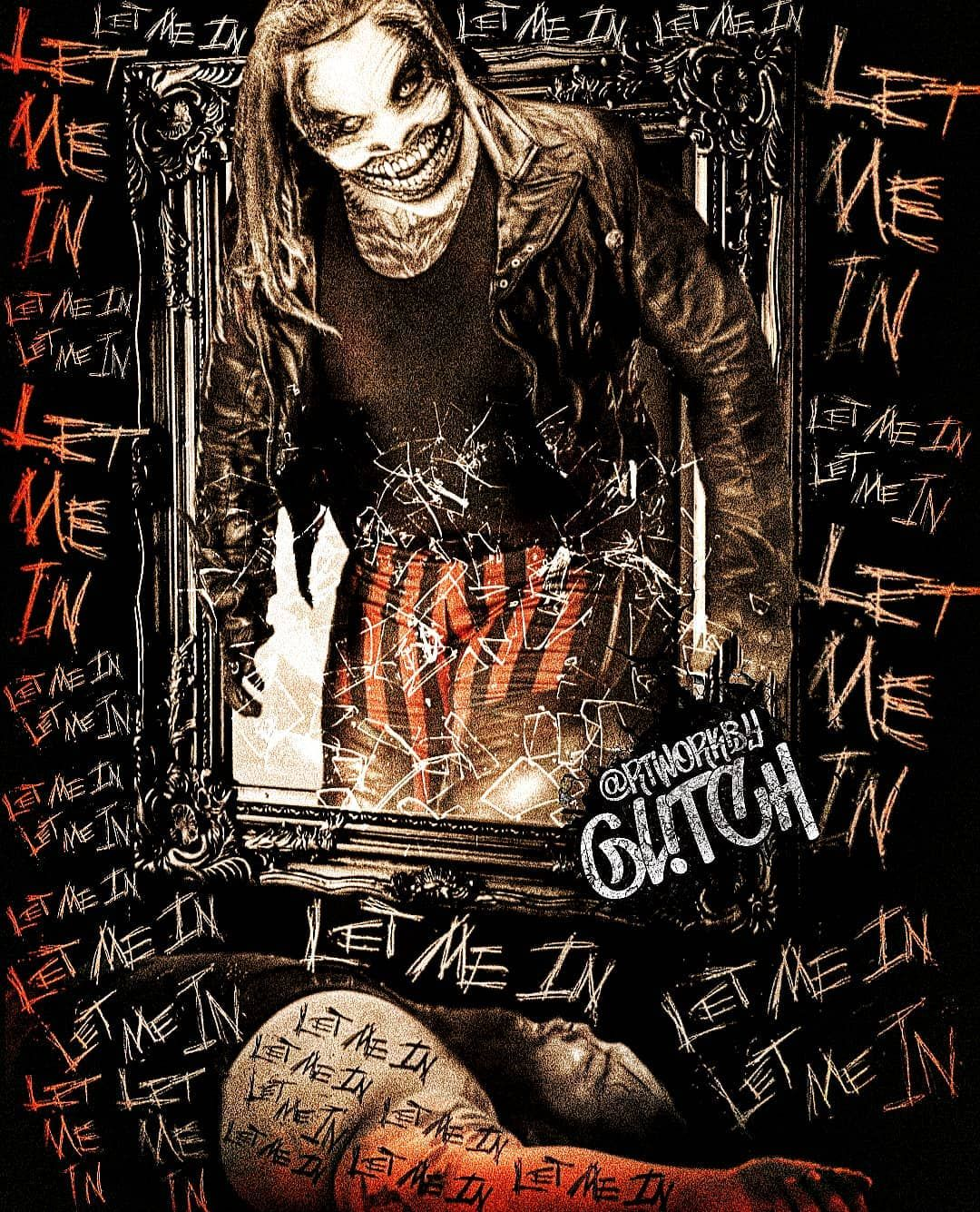 """@GL!TCH on Instagram: """"The countdown last POSTERS 1 of 2 @thewindhamrotunda hes here tonight we let him in #braywyatt #thefiend @wwe #wwe #smackdownwwe…"""""""