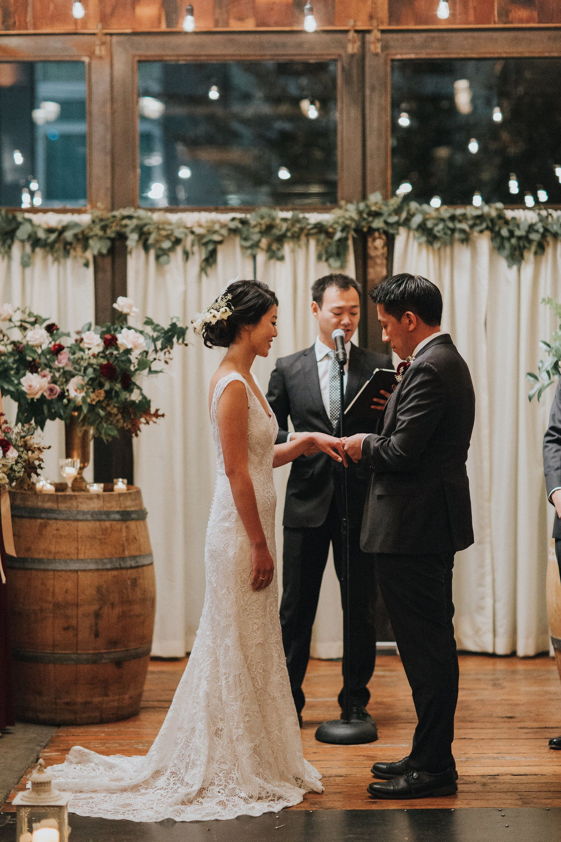 """Another romantic """"I Do"""" at Brooklyn Winery! New york"""