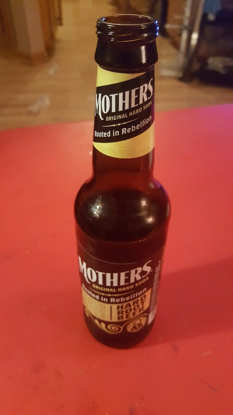Mother's original hard soda (root beer)! It's really good, and it's not as sweet as Coney Island.