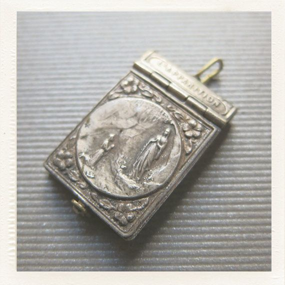 Love this!  https://www.etsy.com/listing/165900735/antique-art-nouveau-religious-french