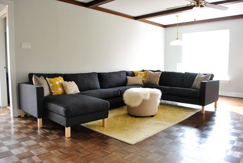 Assembling Our Ikea Sectional Sofa (We LOVE It Part 43