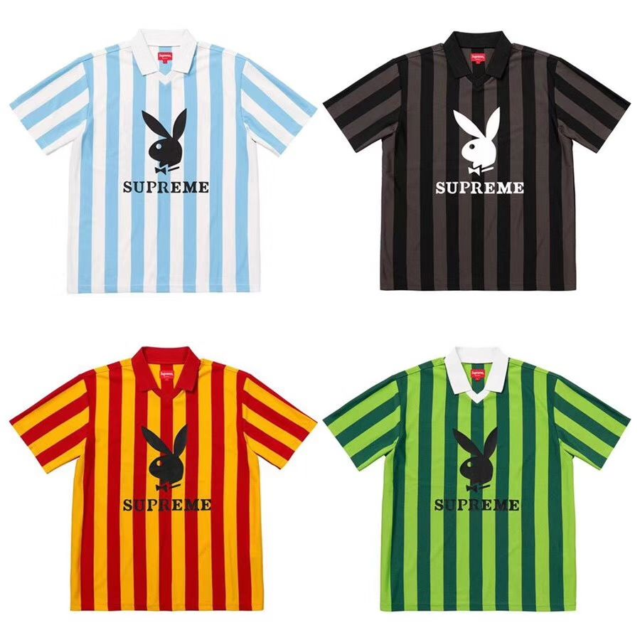 Supreme Playboy SS18 Soccer Jersey Fifa game strong!  supreme  playboy   soccer   3c7cce11d
