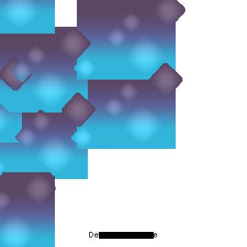 التكنولوجيا الرقمية المربعات الهندسية الزرقاء التدرج أزرق العلم رقمي Png وملف Psd للتحميل مجانا Clip Art Frames Borders Vector Technology Geometric Vector