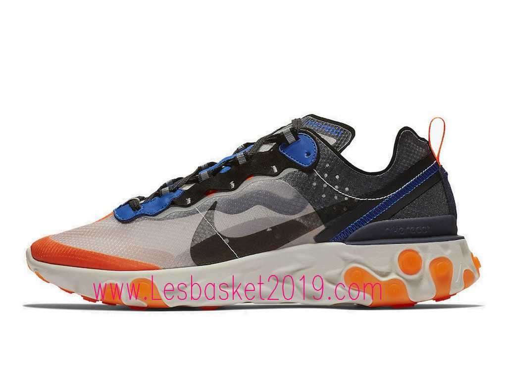 Pour 2019 Pas Cher Nike Homm Chaussures React Basket Element 87 eIW2YE9DH