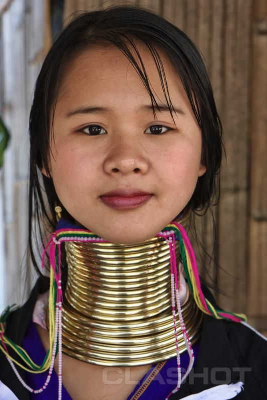 NECKing........Kayan tribe- ideal beauty in long necks