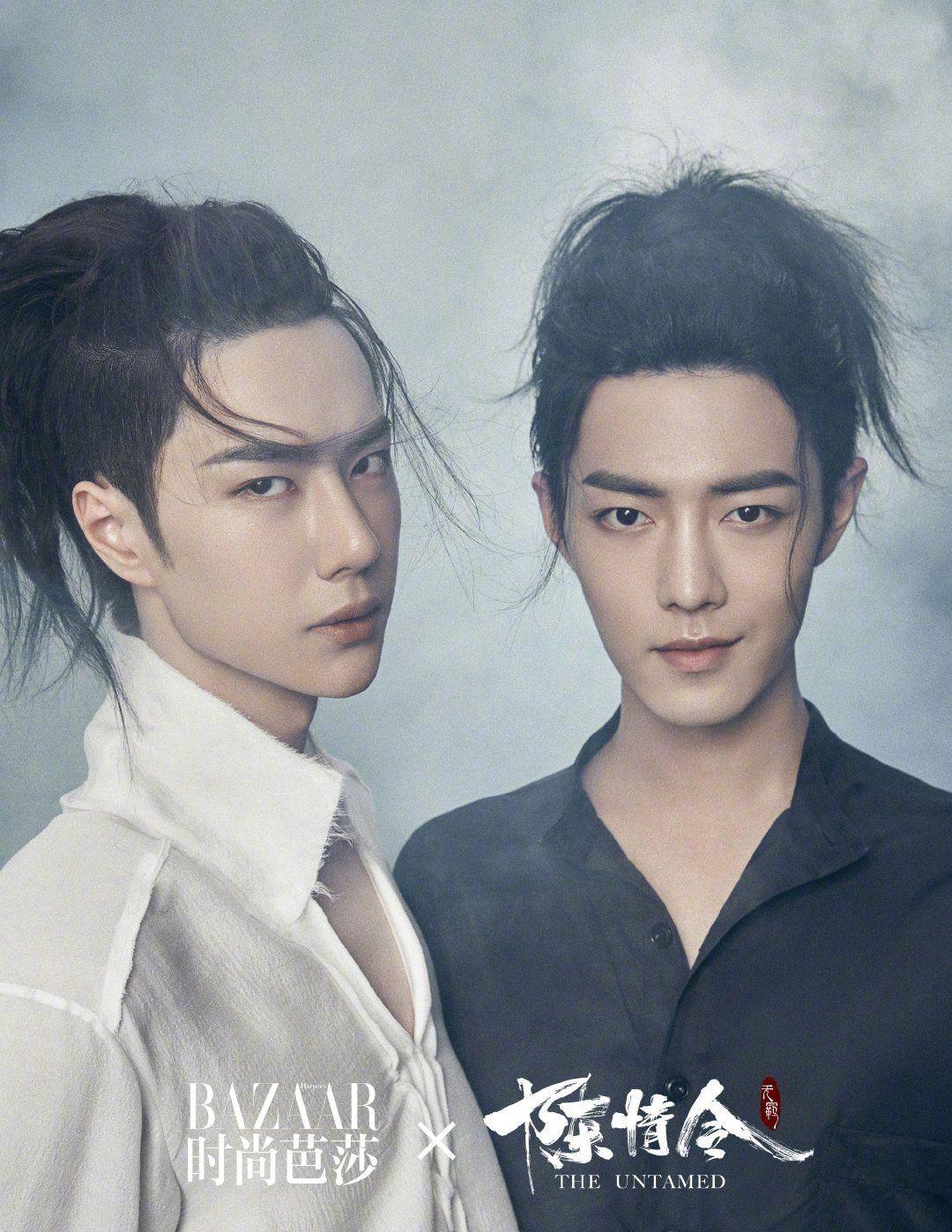 Xiao Zhan, Wang Yibo in The Untamed shoot part 2 Untamed