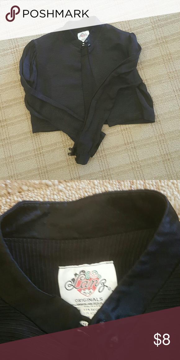 Bolero jacket Gently used, made in USA lanz Jackets & Coats