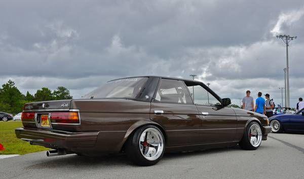 1985 Toyota Mark II On Hoshino Impul G5